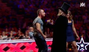 Alex Goude agresse le jury sur M6 - ZAPPING PEOPLE DU 24/12/2014