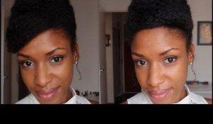 Coiffure Soiree Reveillon Nouvel An Cheveux Crepus Frises