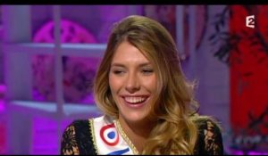 Camille Cerf (Miss France 2015) casse Stéphane Bern - ZAPPING PEOPLE DU 19/01/2015