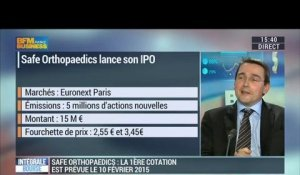 Safe Orthopaedics précise son introduction en Bourse: Yves Vignancour - 27/01