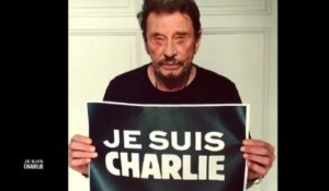 "Johnny Hallyday : ""Je suis Charlie"" - ZAPPING PEOPLE DU 09/01/2015"