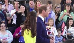 Le Prince William et Kate en visite en Australie