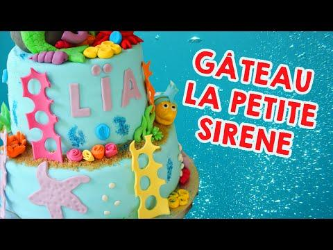 Cake Design Gateau La Petite Sirene Little Mermaid Cake Sur