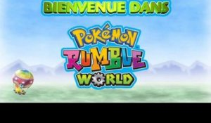 Pokémon Rumble World - Bande-annonce