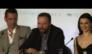 Cannes 2015: conférence de presse de 'The Lobster' de Lanthimos