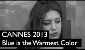 CANNES 2013 : Adèle Exarchopoulos / Blue is the Warmest Color