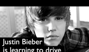 Justin Bieber is learning to drive his new car (Ellen DeGeneres)