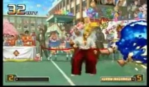 The King of Fighters 2002 : Unlimited Match - Boss & Secret Character Maniac Combos