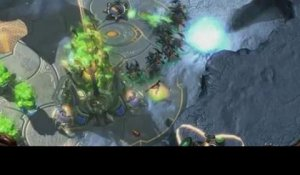 StarCraft II : Heart of the Swarm - Gameplay Trailer