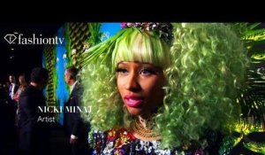 Versace for H&M Launch in NY ft Nicki Minaj, Prince, Uma Thurman & Jennifer Hudson | FashionTV - FTV