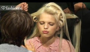 Hair & Makeup - D&G Backstage ft Pat McGrath - Milan Fashion Week Spring 2012 MFW | FashionTV - FTV