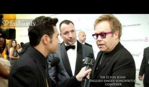 Elton John AIDS Foundation Academy Awards | FashionTV - FTV.com