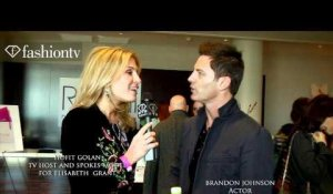 Elton John AIDS Foundation ft Brandon Johnson, Hosted by Hofit Golan | FashionTV - FTV.com