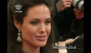 fashiontv | FTV.com - BRAD PITT & ANGELINA JOLIE LOVE ON THE RIVIERA CANNES FILM F