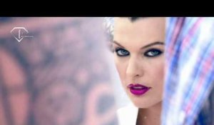 fashiontv | FTV.com - MILLA JOVOVIC FOR MERCEDES-BENZ - MAKING OF FW S/S 2011