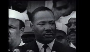 Images d'archives de Martin Luther King