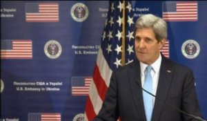 "Ukraine: John Kerry condamne ""l'acte d'agression de la Russie"" - 04/03"