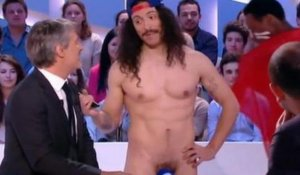 Les Twin Twin nus au Grand Journal -  ZAPPING PEOPLE DU 13/05/2014