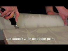 Comment Tapisser Un Meuble Avec Du Papier Peint Sur Orange Videos