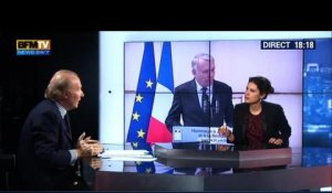 BFM Politique: L'interview de Brice Hortefeux par Apolline de Malherbe - 23/02 1/6