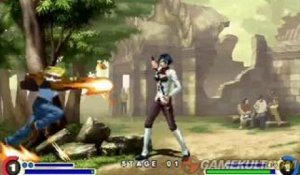 The King of Fighters XI - Combat au temple