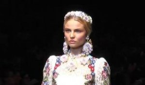 Dolce & Gabbana Fall 2012 Show and Backstage | FashionTV