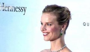 Eva Herzigova at amfAR Red Carpet - Cannes 2012 | FashionTV