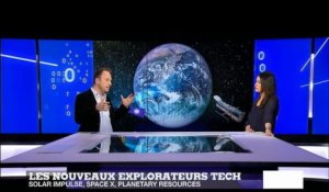 Solar Impluse, SpaceX, Planetary Resoucres : les nouveaux explorateurs high-tech