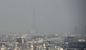 Circulation alternée lundi à Paris à cause de la pollution persistante