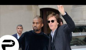 Fashion Week : Paul McCartney et Kanye West détendus !