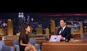 Ariana Grande imite Céline Dion - ZAPPING PEOPLE DU 24/03/2015