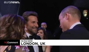 William et Kate, un couple royal aux Bafta