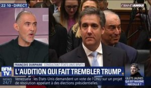 L'audition qui fait trembler Donald Trump