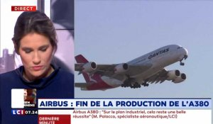 Airbus : fin de la production de l'A380