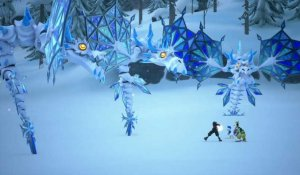 Kingdom Hearts III : Boss Dragon de givre