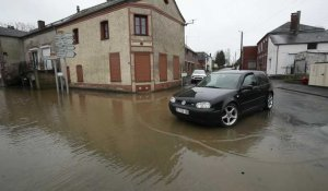 Inondations à Cartignies