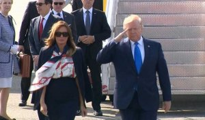 Visite de Trump au Royaume-Uni : Air Force One atterrit à l'aéroport de Stansted