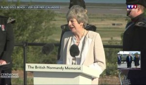 #DDAY75 TF1 - L'allocution de Theresa May