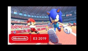 Mario Sonic Aux Jeux Olympiques De Tokyo 2020 Bande