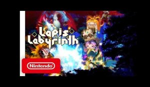 Lapis x Labyrinth - Launch Trailer - Nintendo Switch