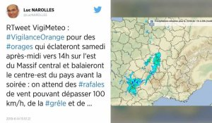 Orages. Météo France place cinq départements en alerte orange