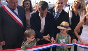 Inauguration du groupe scolaire Charles-de-Gaulle à Tourcoing