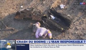 Crash d'un Boeing : l'Iran reponsable par accident ?