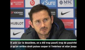 "24e j. - Lampard : ""On s'est trompé"""