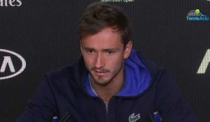 "Open d'Australie 2020 - Daniil Medvedev : ""We know how Alexei Popyrin can play here in Melbourne"""