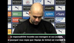 FOOTBALL: League Cup:  Guardiola et Solskjaer réagissent sur l'affaire Woodward