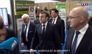 VIDEO - La journée d'Emmanuel Macron au Salon de l'Agriculture
