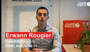 Municipales 2020 à Vitré. L'interview d'Erwann Rougier