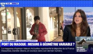 Port du masque: mesure à géométrie variable ? (2) - 30/08
