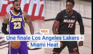 Los Angeles Lakers - Miami Heat en finale NBA
